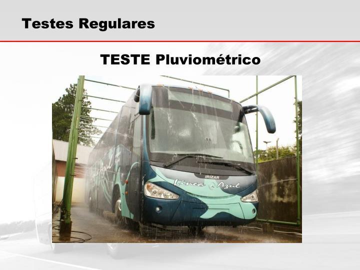 Testes Regulares