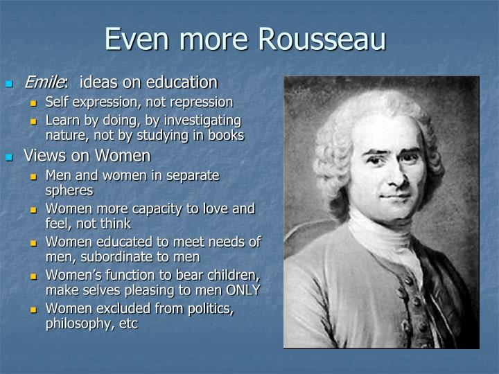 Even more Rousseau