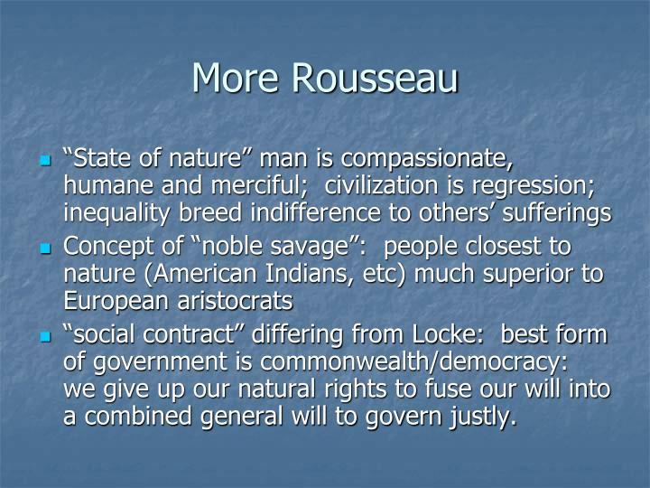More Rousseau