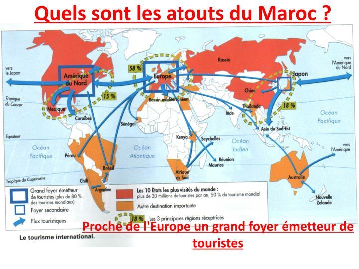 Quels sont les atouts du Maroc ?