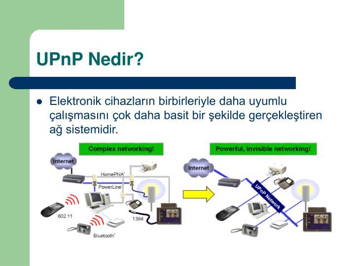 UPnP Nedir?