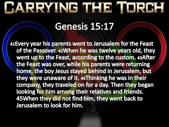 Genesis 15:17