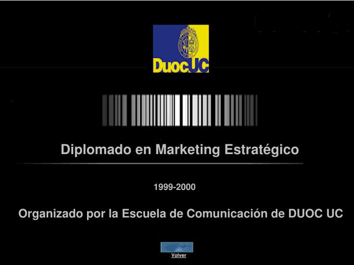Diplomado en Marketing Estratégico
