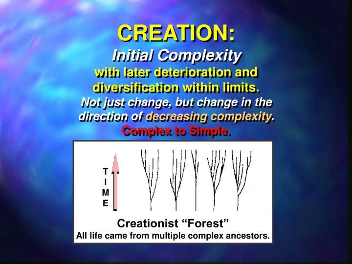 CREATION: