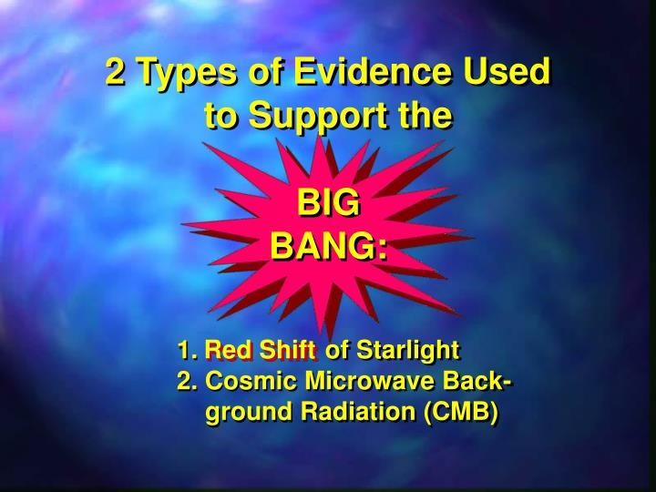 2 Types of Evidence Used to Support the