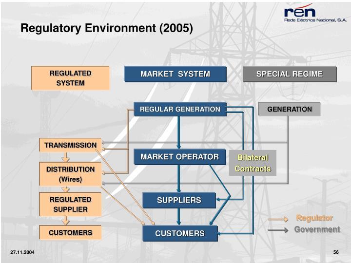 Regulatory Environment (2005)