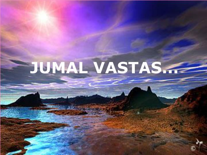JUMAL VASTAS