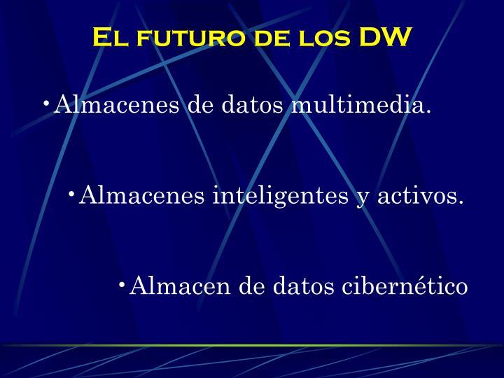 El futuro de los DW