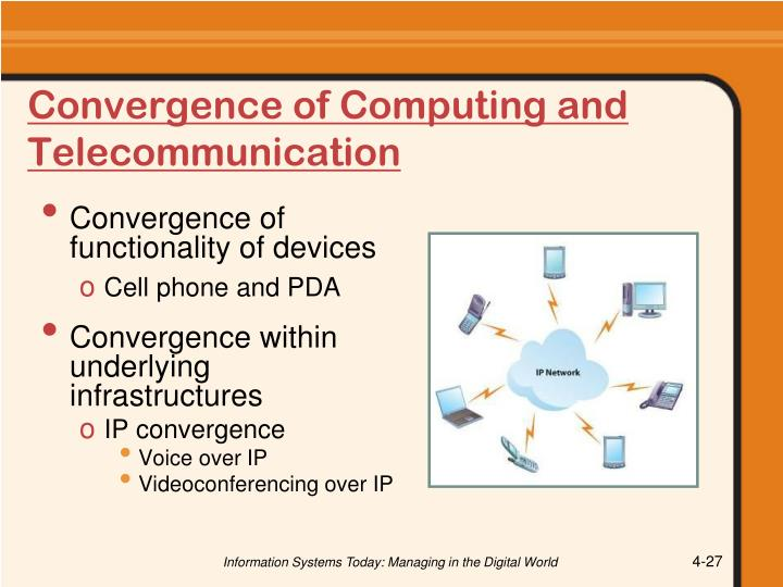 Convergence of Computing and Telecommunication