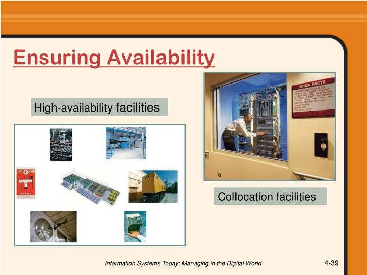 Ensuring Availability