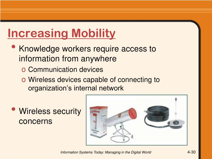 Increasing Mobility