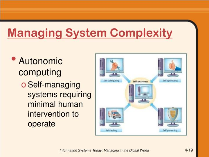 Managing System Complexity