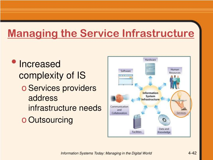 Managing the Service Infrastructure