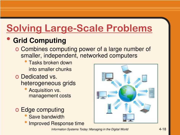 Solving Large-Scale Problems