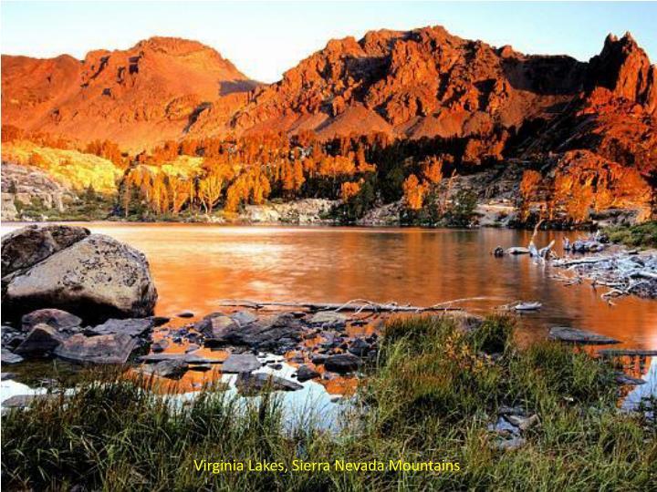 Virginia Lakes, Sierra Nevada Mountains