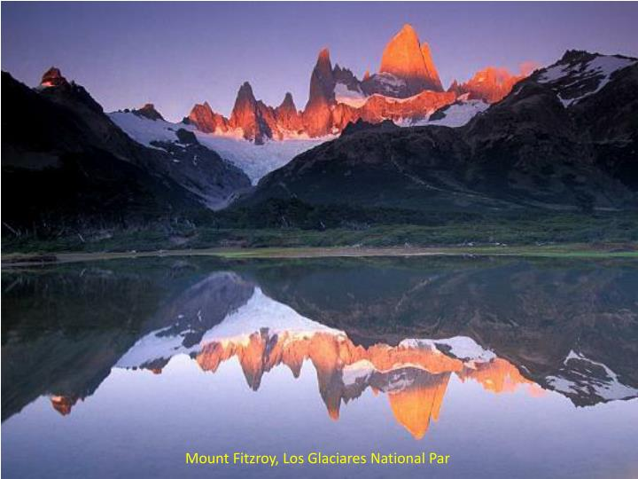 Mount Fitzroy, Los Glaciares National Par