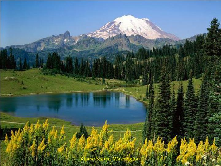 Alpine Scenic, Washington