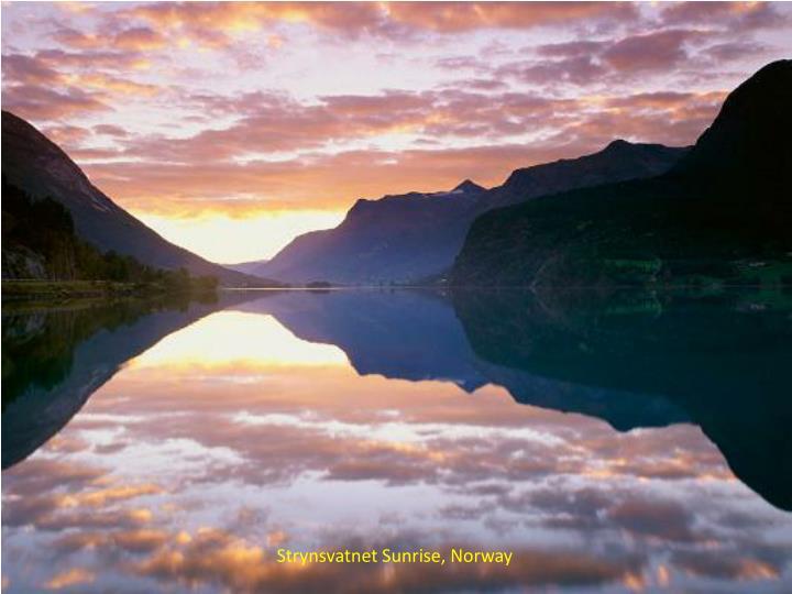 Strynsvatnet Sunrise, Norway