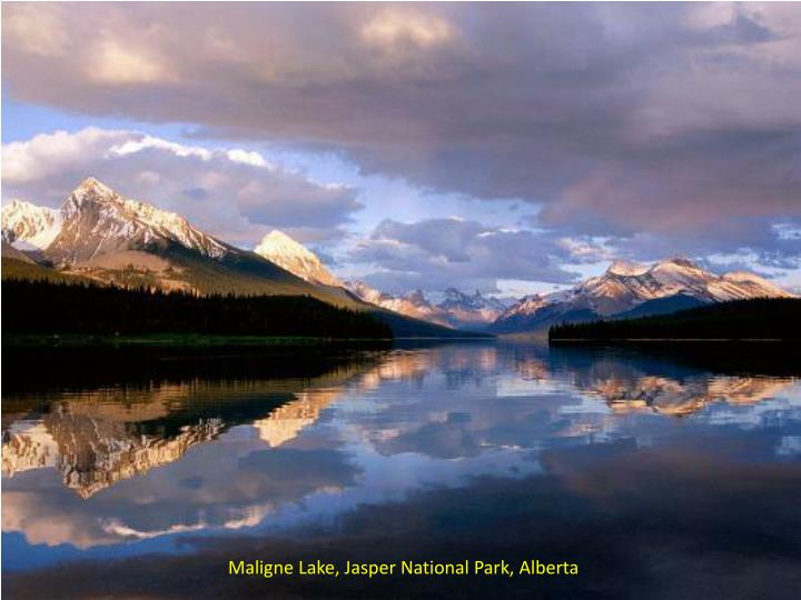 Maligne Lake, Jasper National Park,