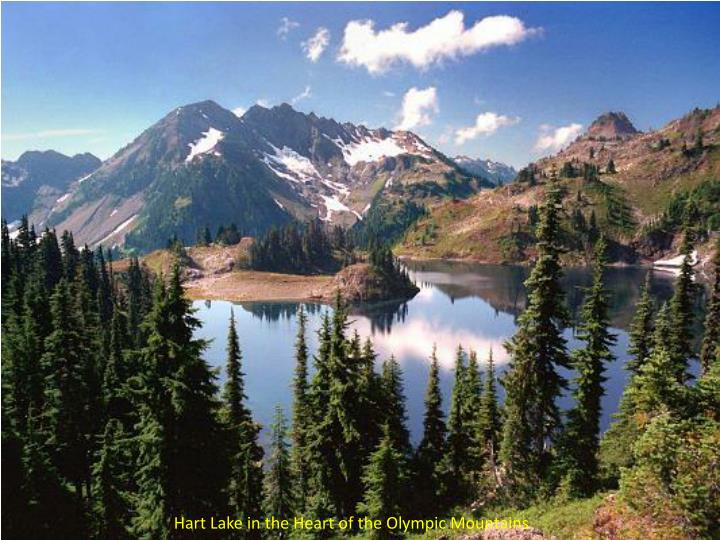 Hart Lake in the Heart of the Olympic Mountains
