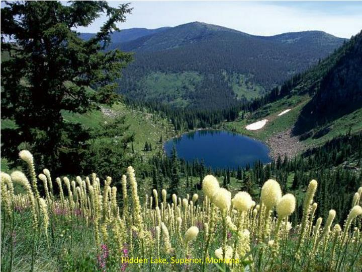 Hidden Lake, Superior, Montana