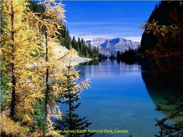 Lake Agnes, Banff National Park, Canada