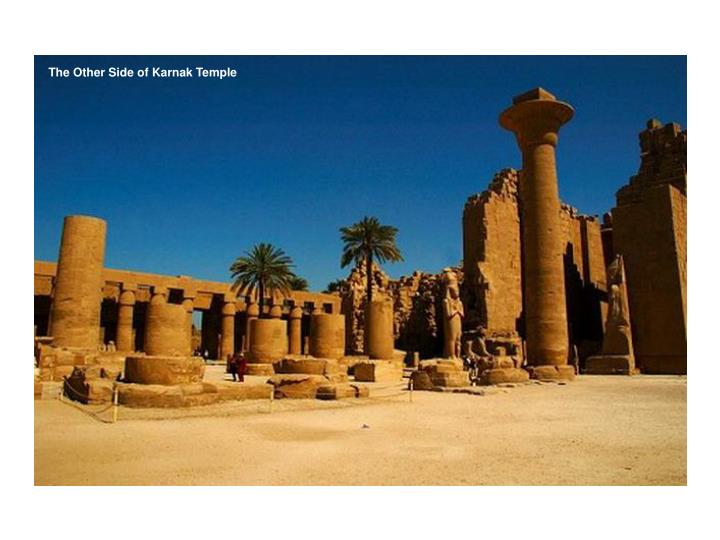 The Other Side of Karnak Temple