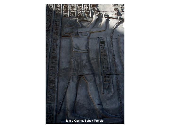 Isis o Osyris, Sobek Temple