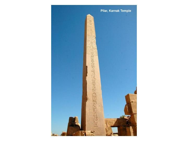 Pilar, Karnak Temple