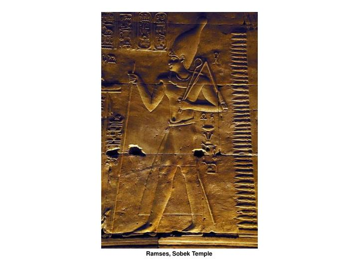 Ramses, Sobek Temple