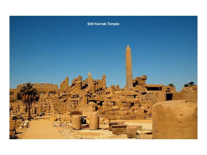 Still Karnak Temple