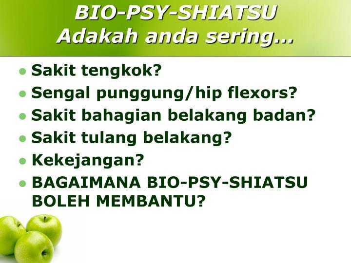 BIO-PSY-SHIATSU