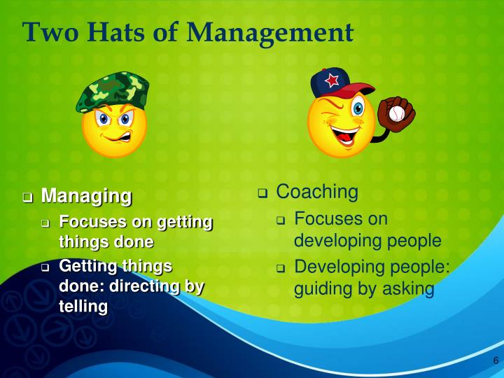 Two Hats of Management