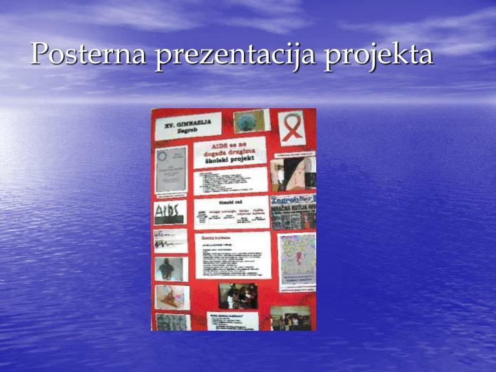 Posterna prezentacija projekta