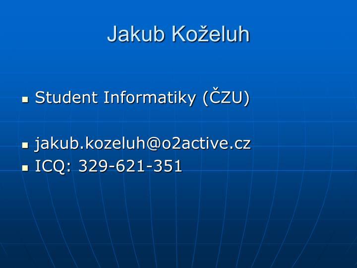 Jakub Koželuh