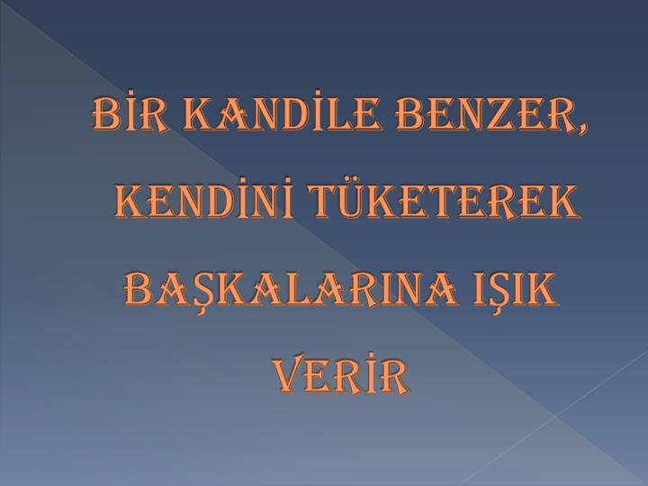 BR KANDLE BENZER,