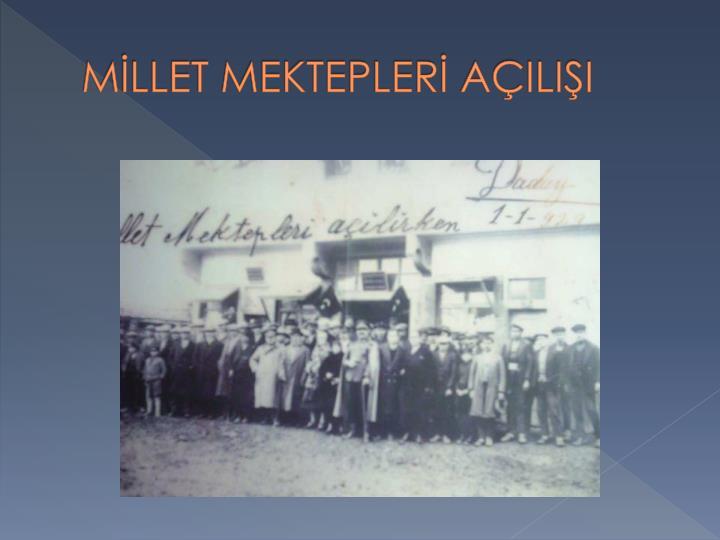 MLLET MEKTEPLER AILII
