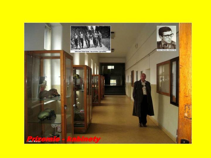 Prízemie - kabinety