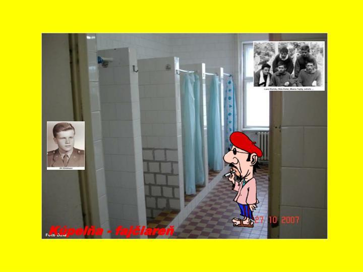 Kúpelňa - fajčiareň