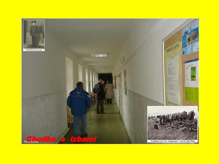 Chodba  s  izbami