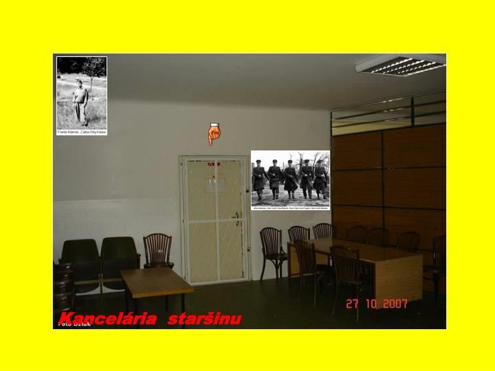 Kancelária  staršinu