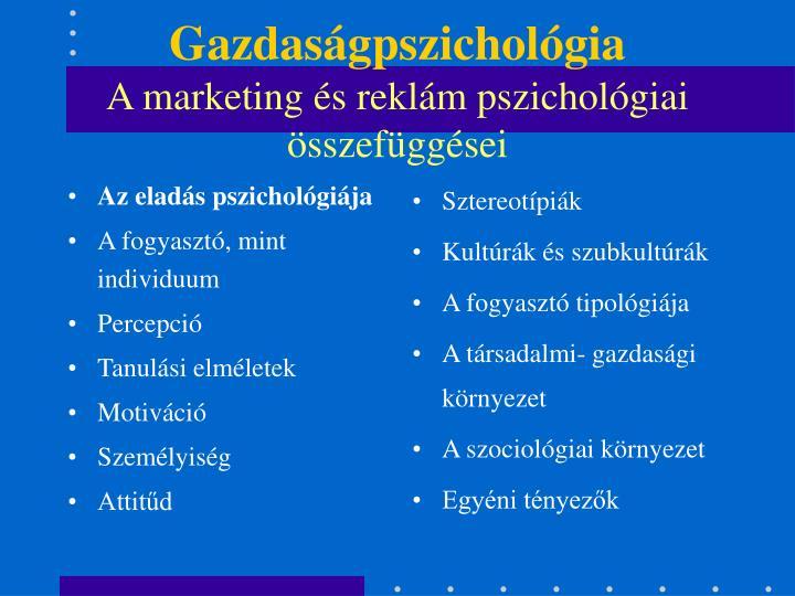 Az eladás pszichológiája