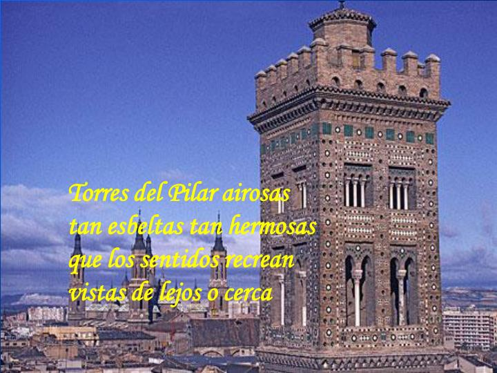 Torres del Pilar airosas