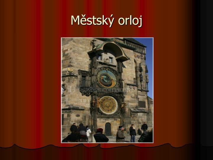 Městský orloj
