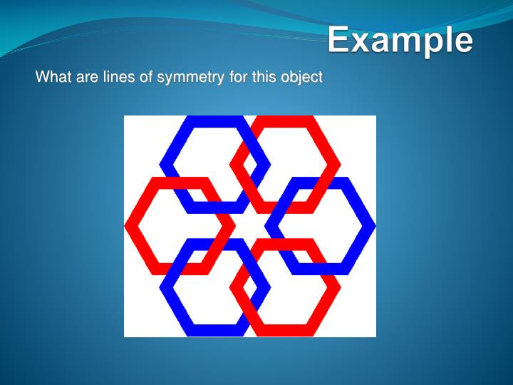 What are lines of symmetry for this object
