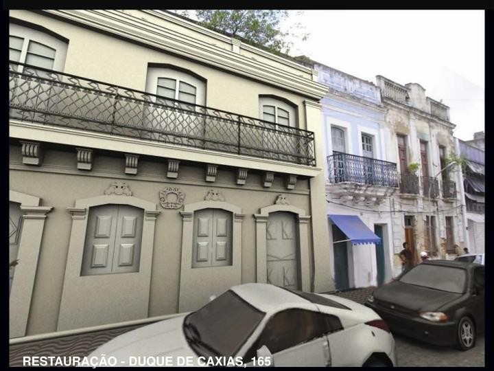 RESTAURAÇÃO - DUQUE DE CAXIAS, 165