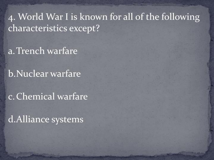 4. World