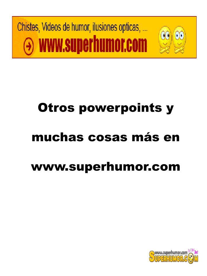 Otros powerpoints y