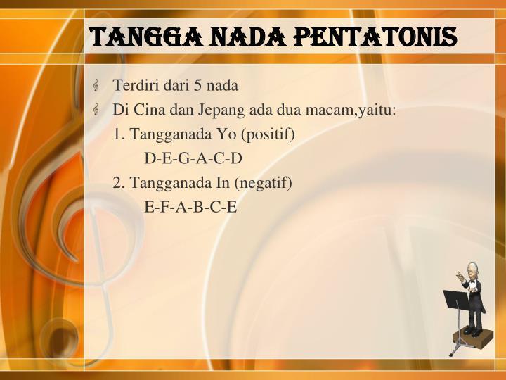 TANGGA NADA PENTATONIS