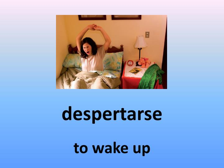 despertarse